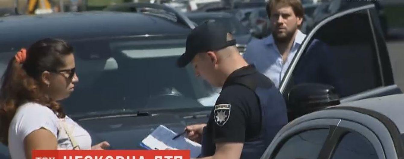 Помощник митрополита Павла на церковной машине совершил ДТП и скрылся с места аварии