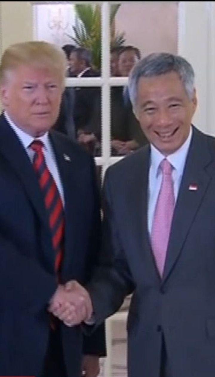 В Сингапуре готовятся к встрече Дональда Трампа и Ким Чен Ына