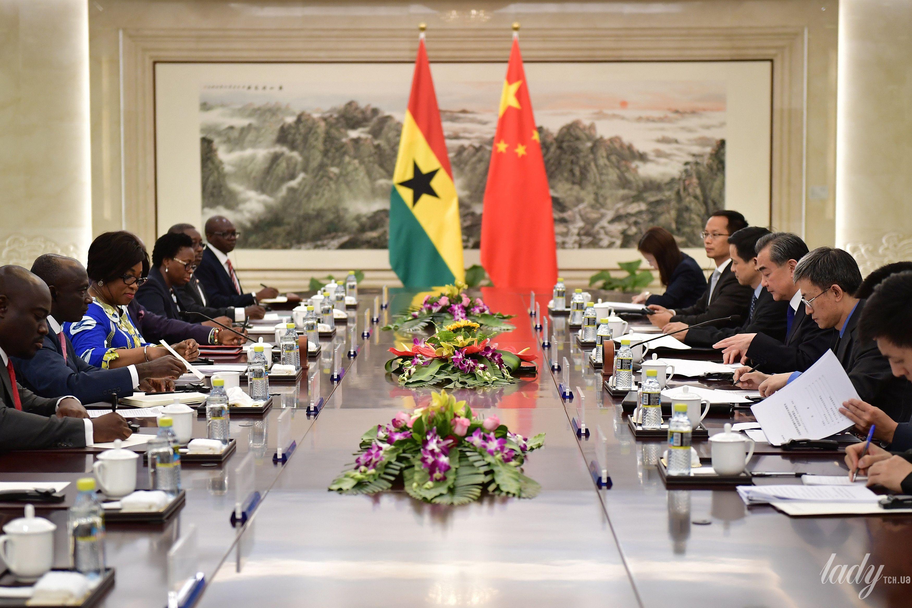Министр иностранных дел и региональной интеграции Ганы Ширли