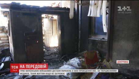 Оккупанты целятся воспалительными патронами по домам гражданских в Марьинке