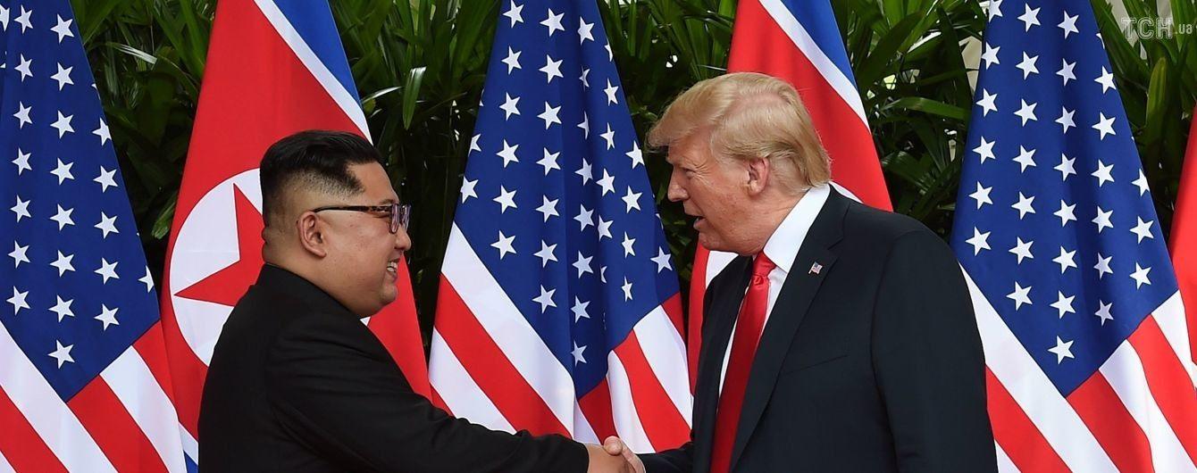 Трамп сподівається на нову зустріч з Кім Чен Ином