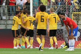 Збірна Бельгії знову не залишила шансів учаснику ЧС-2018