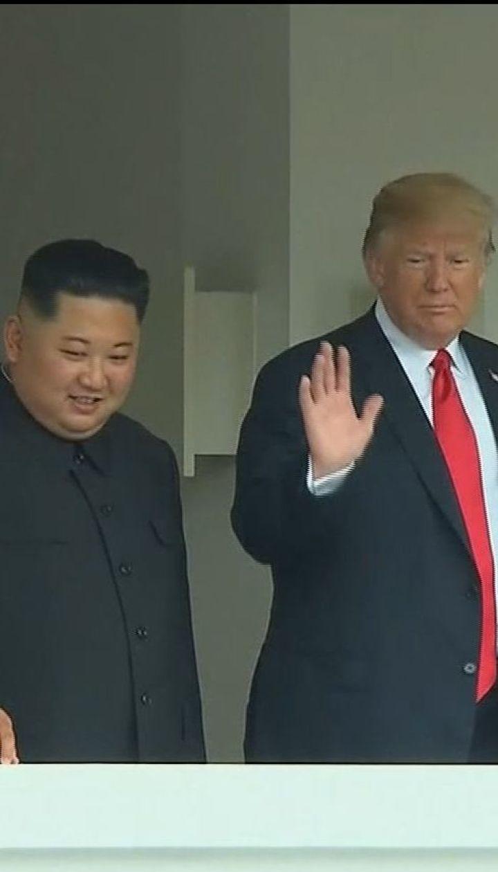 Эпохальный саммит: президент Трамп и Ким Чен Ын подписали итоговый документ