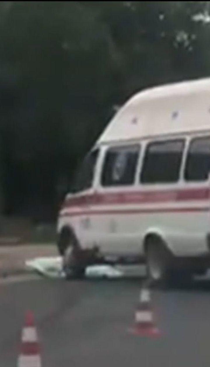 В Херсоне скорая сбила женщину на пешеходном переходе