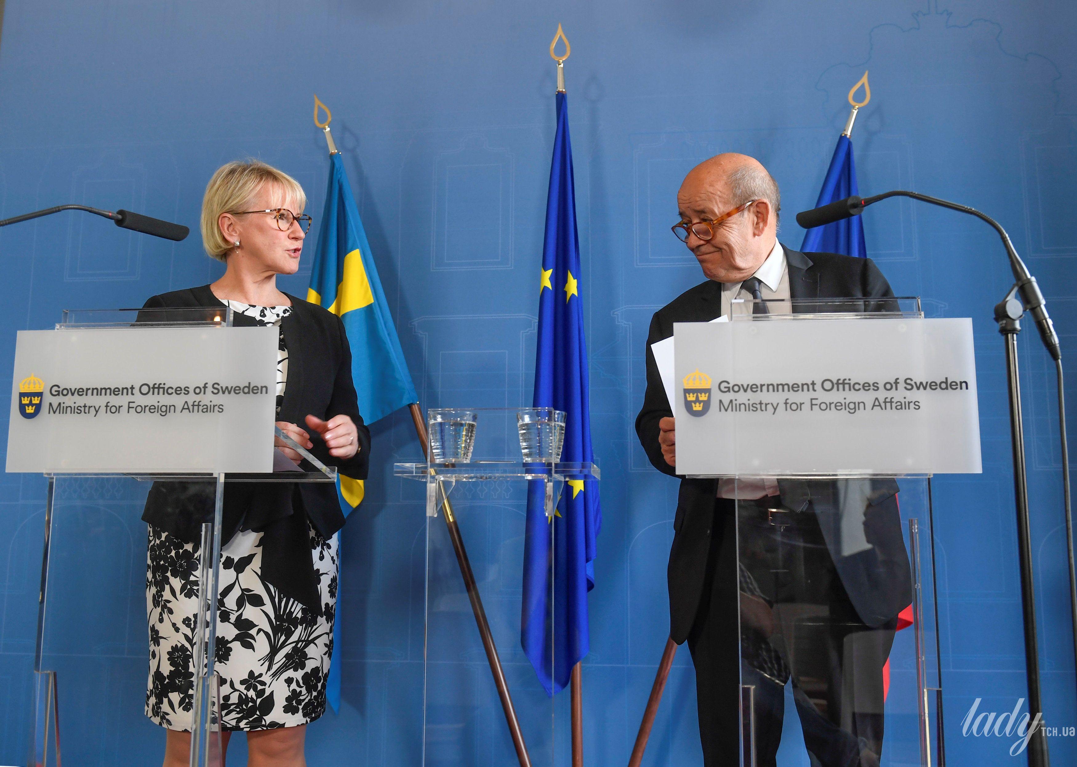 Министр иностранных дел Швеции Маргот Вальстрем_2