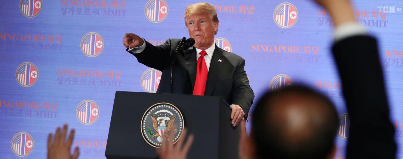 Трамп считает саммит США-КНДР шагом в сторону от ядерной катастрофы