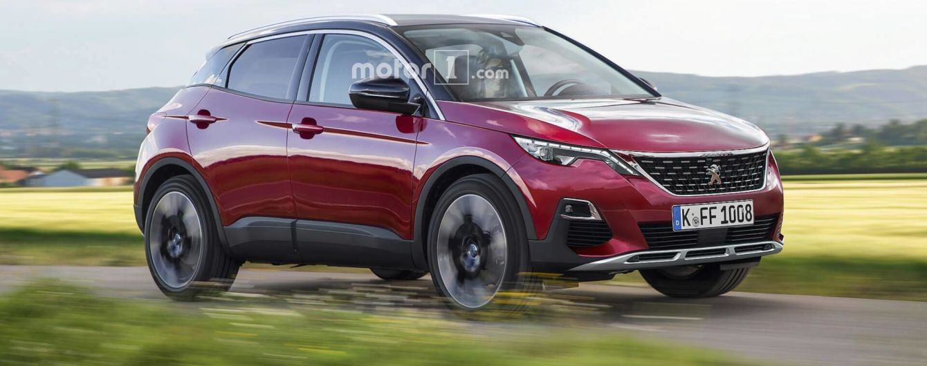 Новачок в сегмент кросоверів: дизайнери пофантазувати про Peugeot 1008