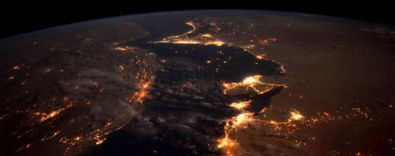 NASA показало красоту Персидского залива из космоса