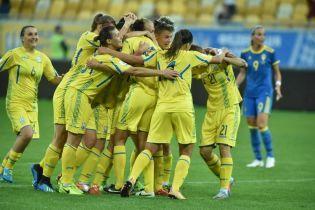 Женская сборная Украины сенсационно обыграла Швецию в отборе на чемпионат мира
