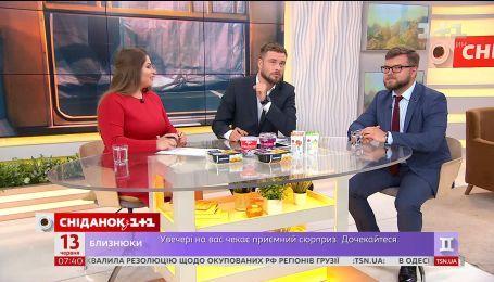 """""""Сніданок"""" перевірив нове меню потягів разом з очільником """"Укрзалізниці"""" Євгеном Кравцовим"""