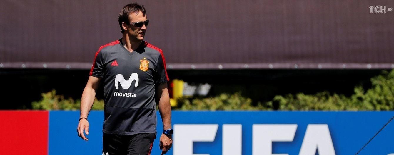 Сборная Испании уволила тренера перед ЧМ-2018