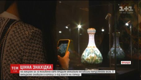 На парижском аукционе фарфоровую вазу продали за 16 миллионов евро
