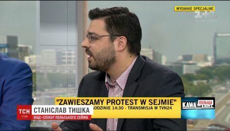 Віце-спікер польського Сейму зневажливо висловився про українських медиків