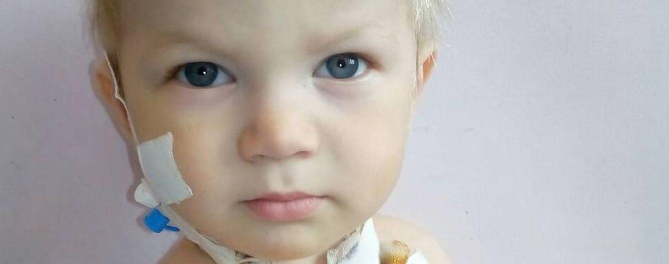 Родина Пустовіт просить допомоги в лікуванні голови родини і онука