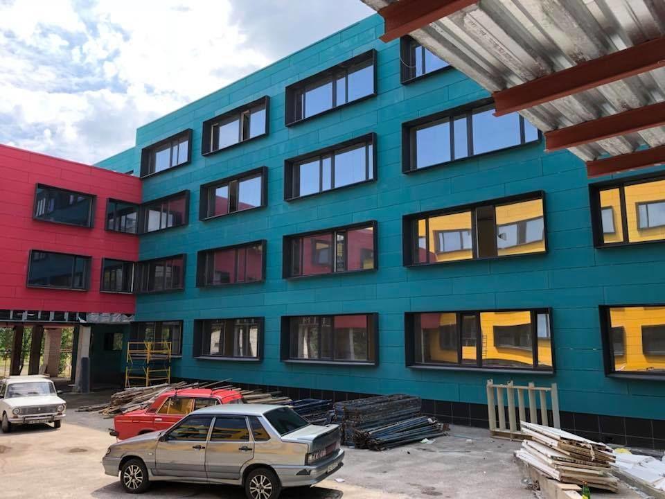 Реконструированная школа в Желтых Водах
