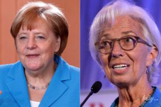 Битва голубых жакетов: Ангела Меркель vs Кристин Лагард