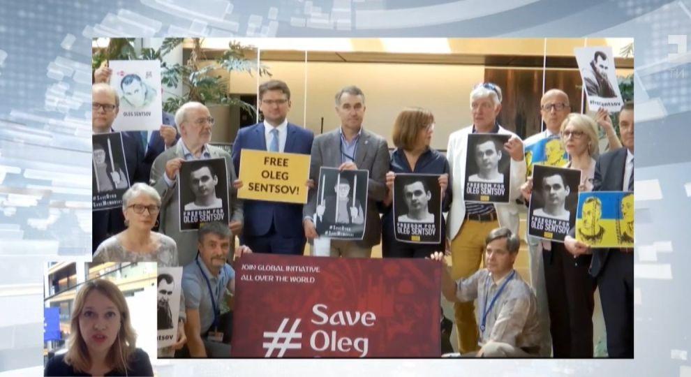 Негайно звільнити Олега Сенцова та інших українських бранців Кремля вимагає  Європарламент. У Страсбурзі 2f336d5de2c7b