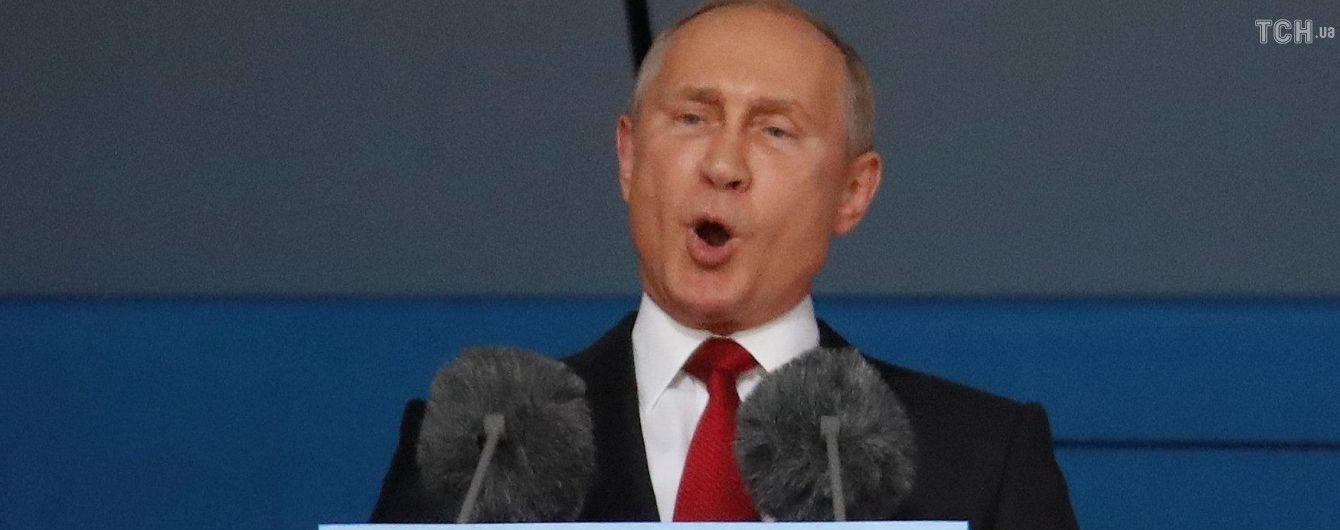 Путин обвинил Киев в возможном обострении ситуации на Донбассе
