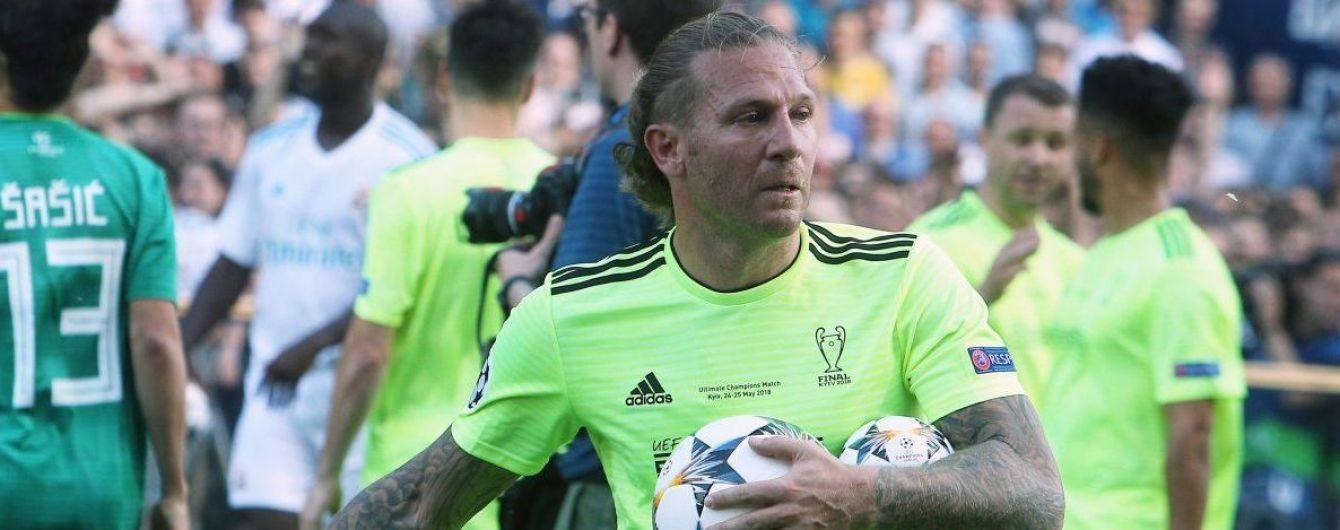 Селекционер сборной Украины посетил матч-открытие Чемпионата мира в России, несмотря на призывы о бойкоте