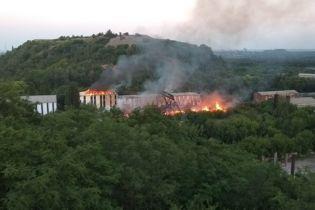В Донецке на шахте произошел сильный пожар - соцсети
