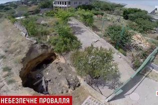 Под Одессой в легендарные катакомбы провалился 9-летний мальчик вместе с велосипедом