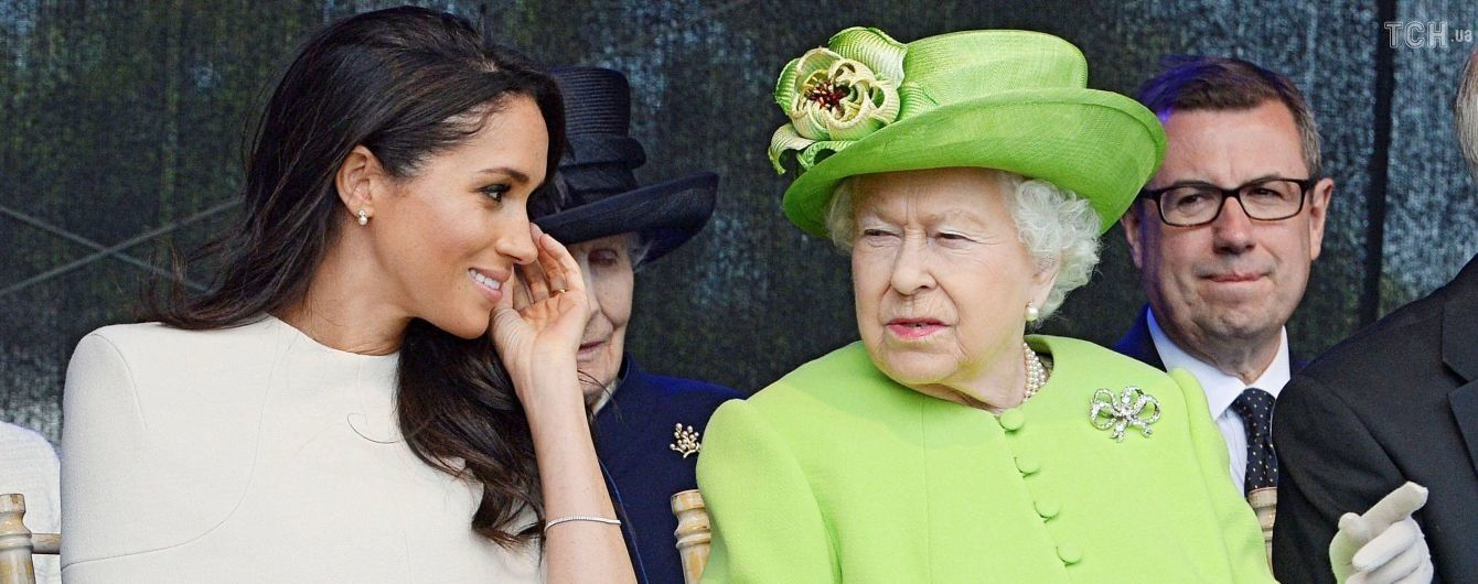Меган Маркл оконфузилась во время своего первого официального мероприятия с Елизаветой II