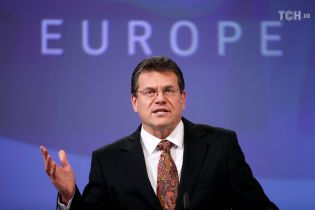 Еврокомиссар Шевчович сообщил результаты первого раунда газовых переговоров между Украиной, РФ и ЕС