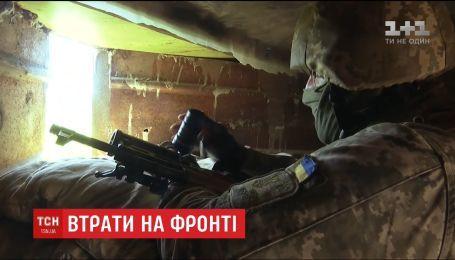 Фронтові зведення: на Донбасі загинули двоє українських бійців