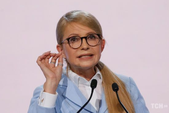 """Тимошенко звинуватила Порошенка в купівлі каналу """"Прямий"""" через підставну особу"""