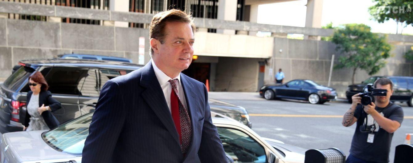 Манафорт согласился признать свою вину в расследовании спецпрокурора Мюллера
