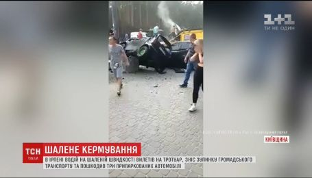 За сутки в Украине произошли два ДТП на остановках