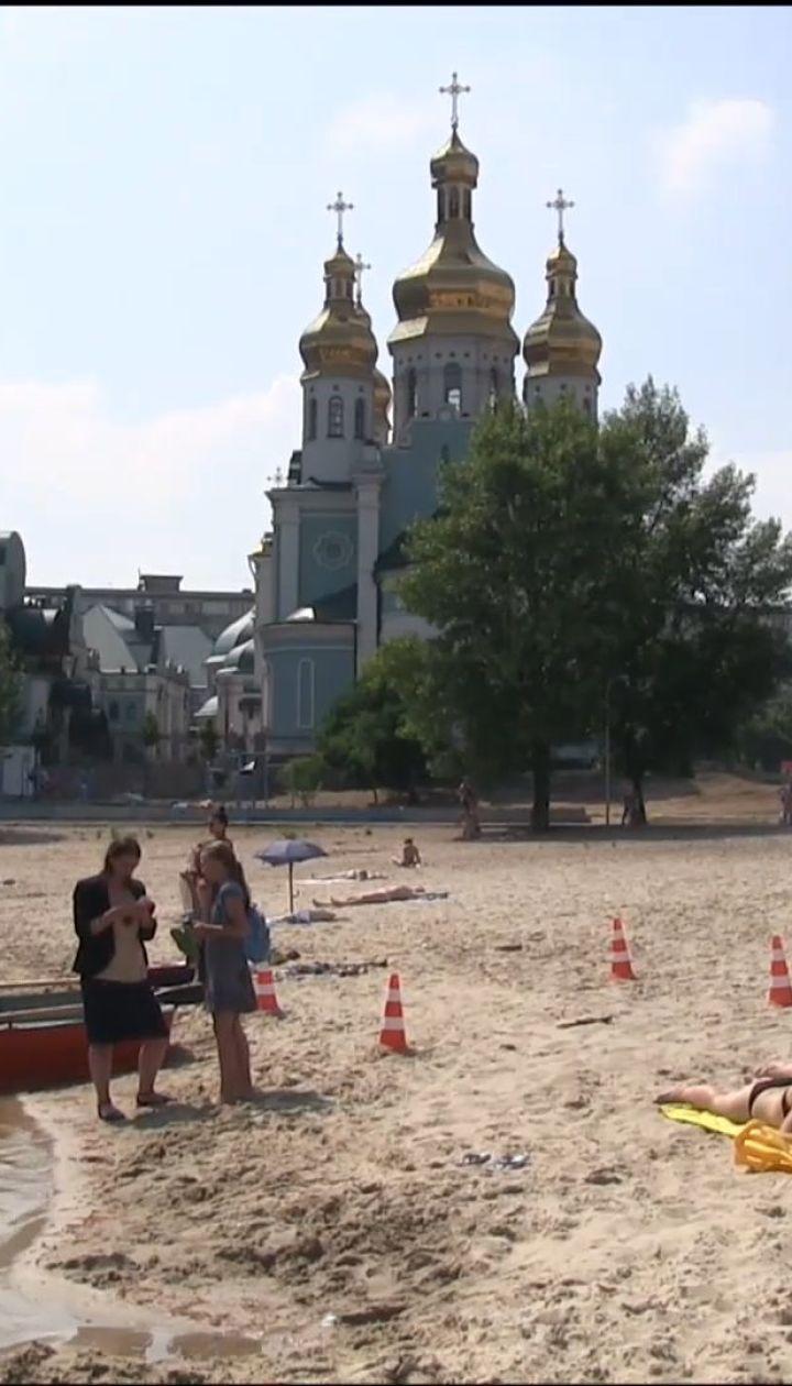 Из-за дождей кишечную палочку нашли в озерах Киева