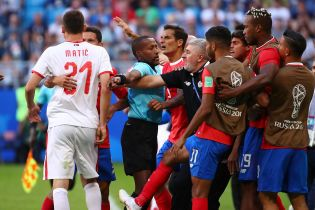 Футболісти Сербії і Коста-Рики влаштували бійку під час матчу ЧС-2018
