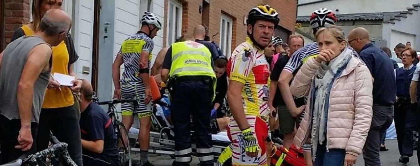 У Бельгії під час змагань велосипедистів 20 спортсменів отримали травми унаслідок зіткнення із авто