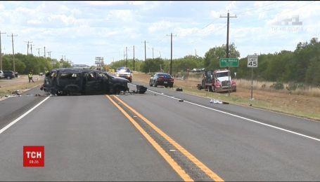 В американском штате Техас произошла масштабная авария, 5 человек погибли