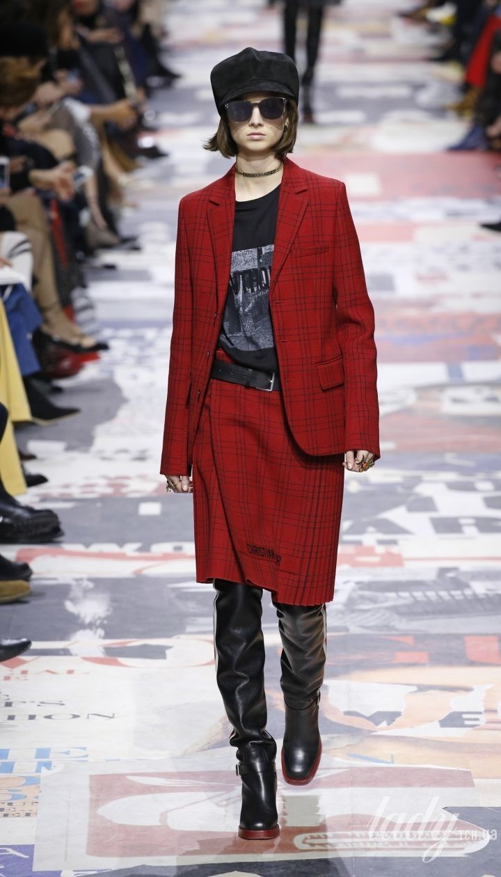 Коллекция Christian Dior прет-а-порте сезона осень-зима 2018-2019 @ East News