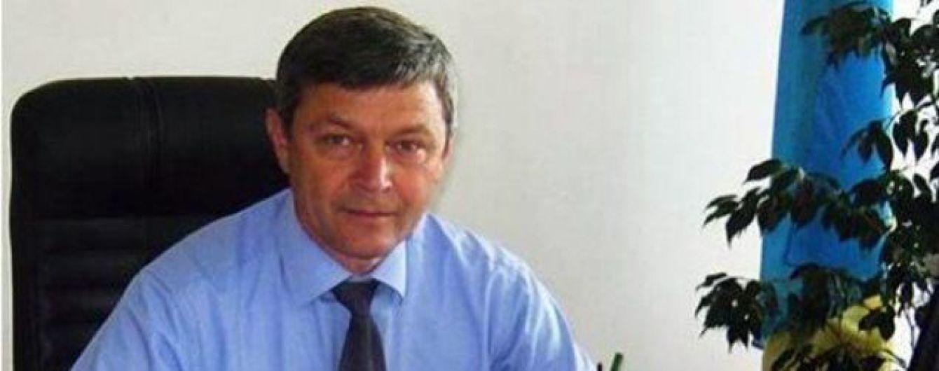 На Львовщине главу РГА поймали на взятке