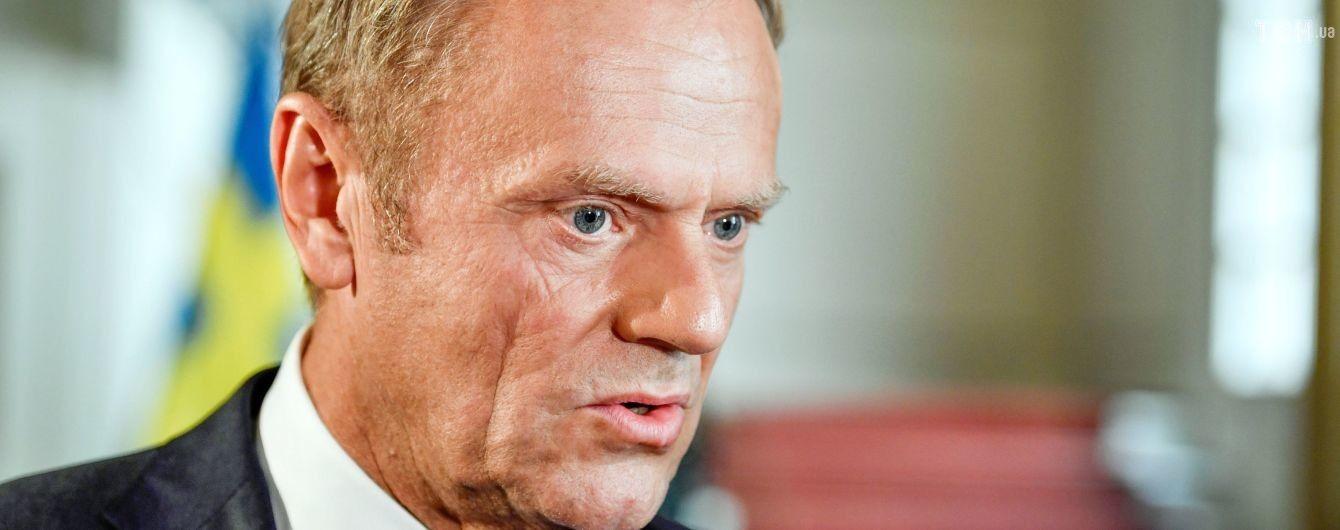 Туск закликав Росію визнати відповідальність за авіакатастрофу МН17 на Донбасі