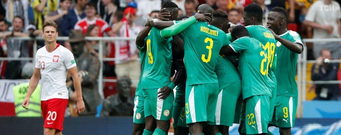 Сенегал благодаря рикошету и невероятной ошибке вратаря переиграл Польшу на ЧМ-2018