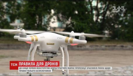 Владельцы беспилотников возмущены намерениями Госавиаслужбы ограничить полеты беспилотников