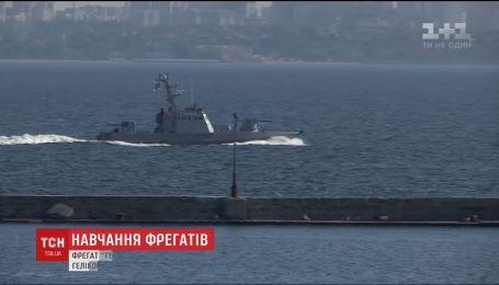 """В Одесской области в открытое море на обучение отправился фрегат """"Гетман Сагайдачный"""""""