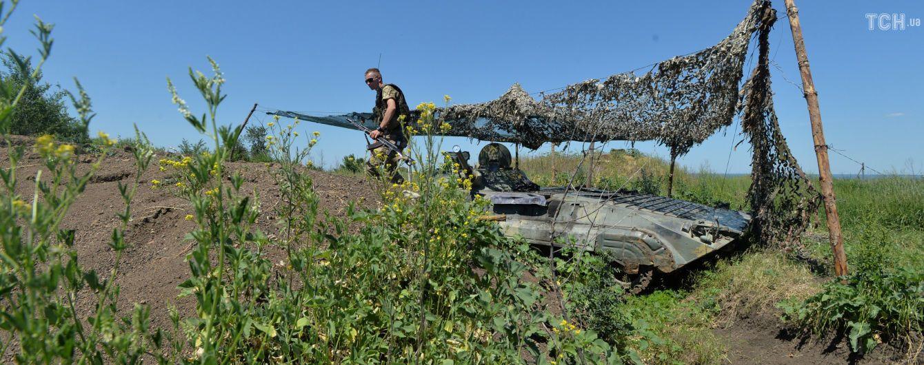 У зоні ООС бойовики випустили протитанкову ракету по прикордонниках