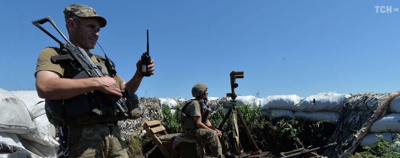 Боевики применили запрещенное вооружение на Донбассе. Сводка ООС