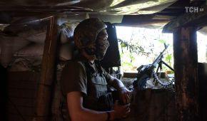 На передовій був поранений український військовий. Ситуація на Донбасі