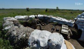 У понеділок лінія фронту на Донбасі гриміла лише на одній ділянці