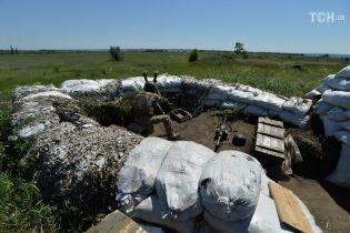 В понедельник линия фронта на Донбассе гремела только на одном участке