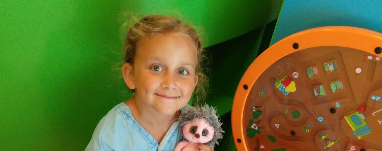 Допоможіть побороти недугу 9-річній Саші