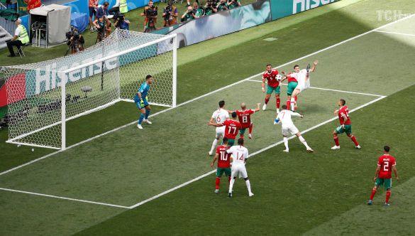 Кріштіану Роналду забиває гол