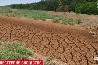 На Харьковщине отходы спиртзавода завоняли окрестность на много километров