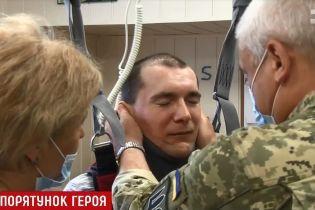 Жахливо скалічений в АТО Герой України Петраківський здивував медиків неочікуваним прогресом у реабілітації